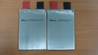高效能鋰高分子二次電池